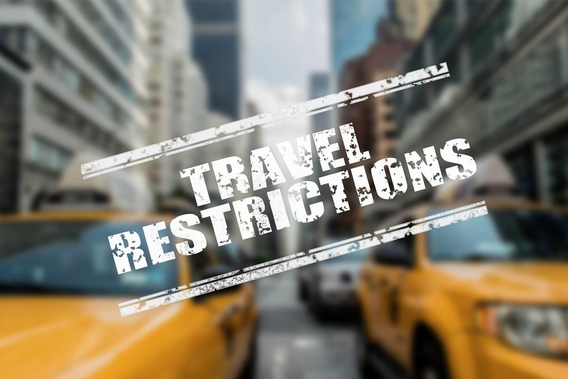 coronavirus who travel restriction