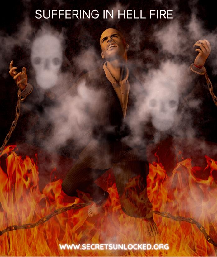 SUFFERING IN HELL FIRE